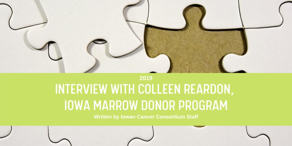 Interview with Colleen Reardon blog header