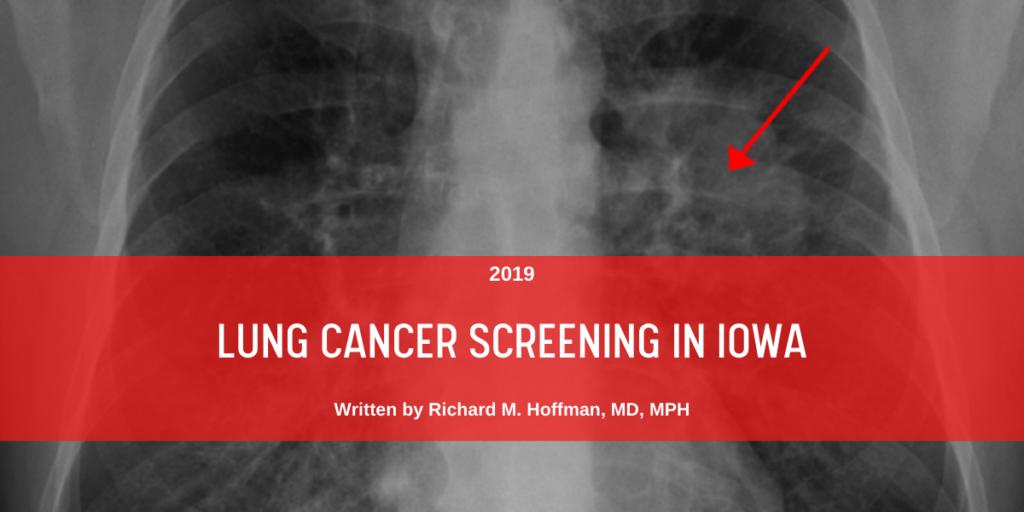 Lung cancer screening in Iowa blog header