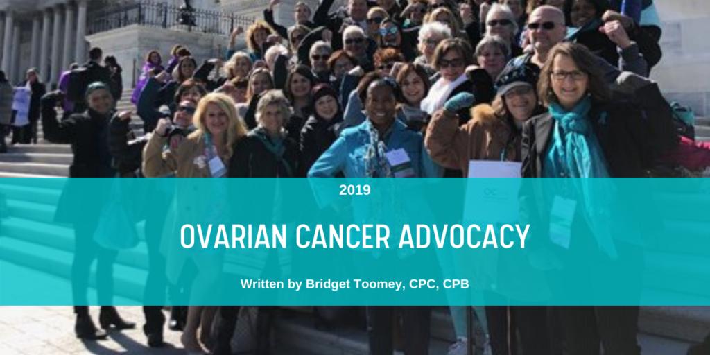 Ovarian Cancer Advocacy blog header