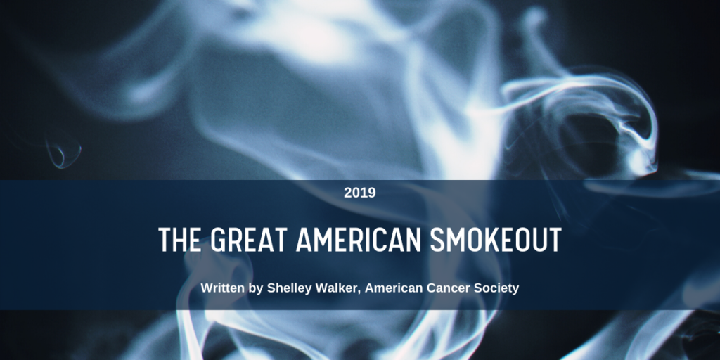 The Great American Smokeout Blog Link