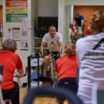 Above + Beyond Cancer Indoor Cycling led by Dr. Dick Deming