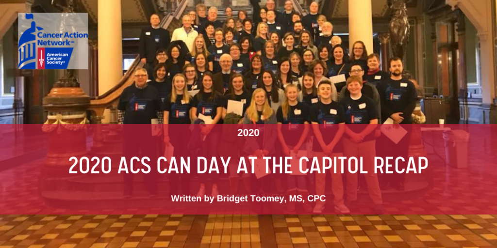 April 2020 Blog - ACS CAN Day at the Capitol