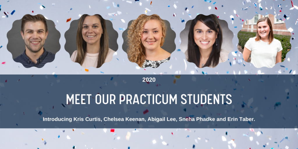 April 2020 Blog - Meet Our Practicum Students Link