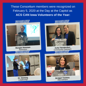 For Blog - ACS CAN Iowa Volunteers of the Year