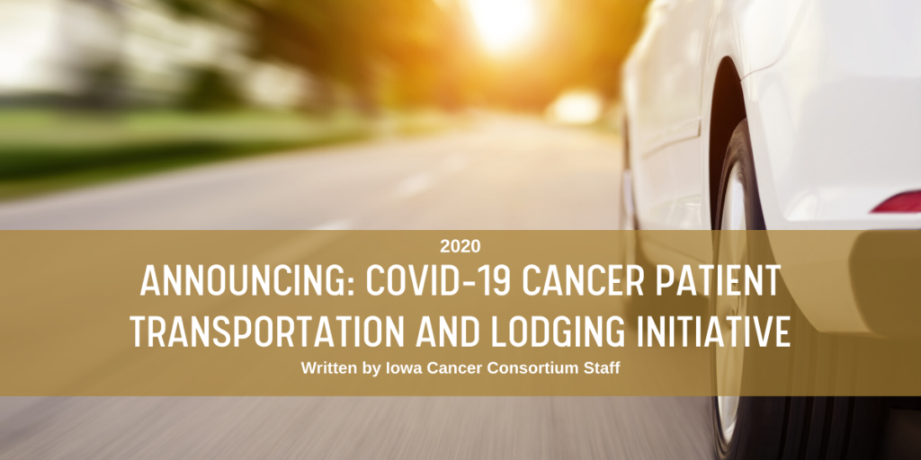 COVID-19 Transportation & Lodging Initiative Blog Post