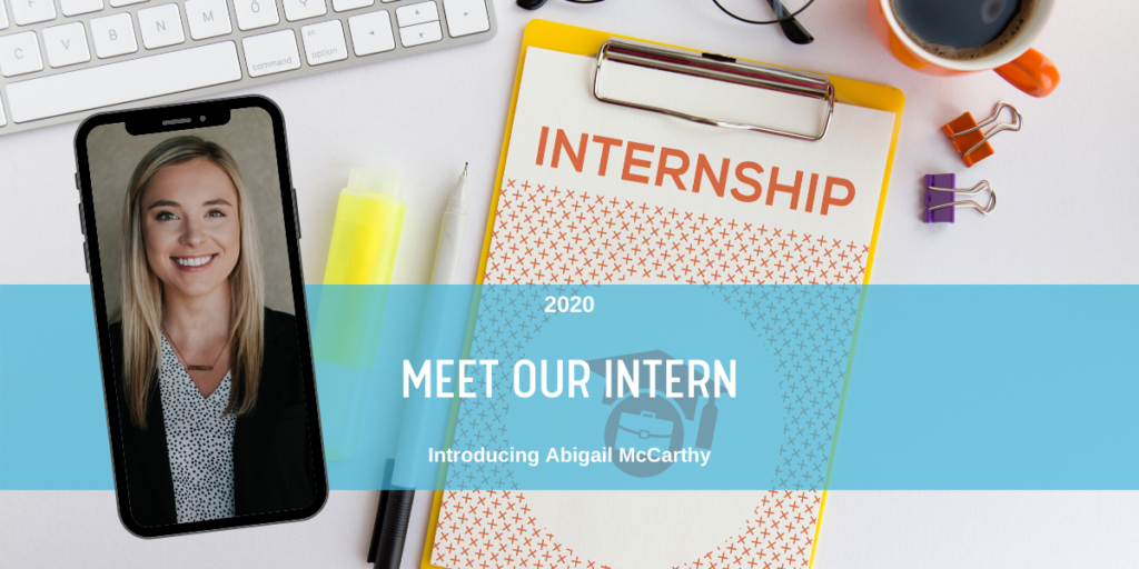 Meet Our Intern: Introducing Abigail McCarthy blog header