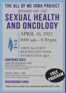 2021 All of Me Iowa Sexual Health and Oncology Conference Program