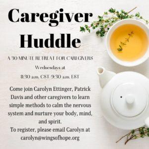 Caregiver Huddle Facebook Post 1