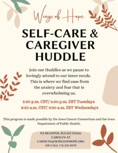 Caregiver Huddle Facebook Post 2