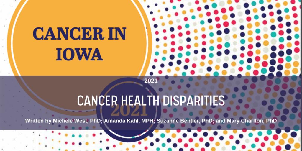 May 2021 Cancer Health Disparities Blog Header